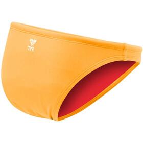 TYR Solid Mini Bas de bikini Femme, fluo orange